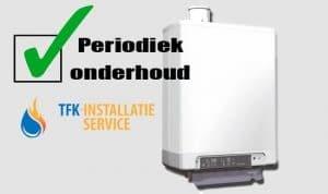 TFK Installatieservice, uw loodgieter in Amstelveen, periodiek onderhoud CV ketel